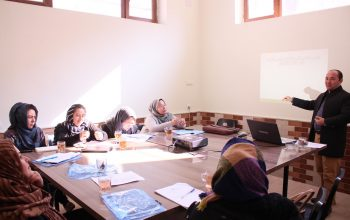 Capacity building workshops conducted for 10 GFPs in Mazar-e-Sharif